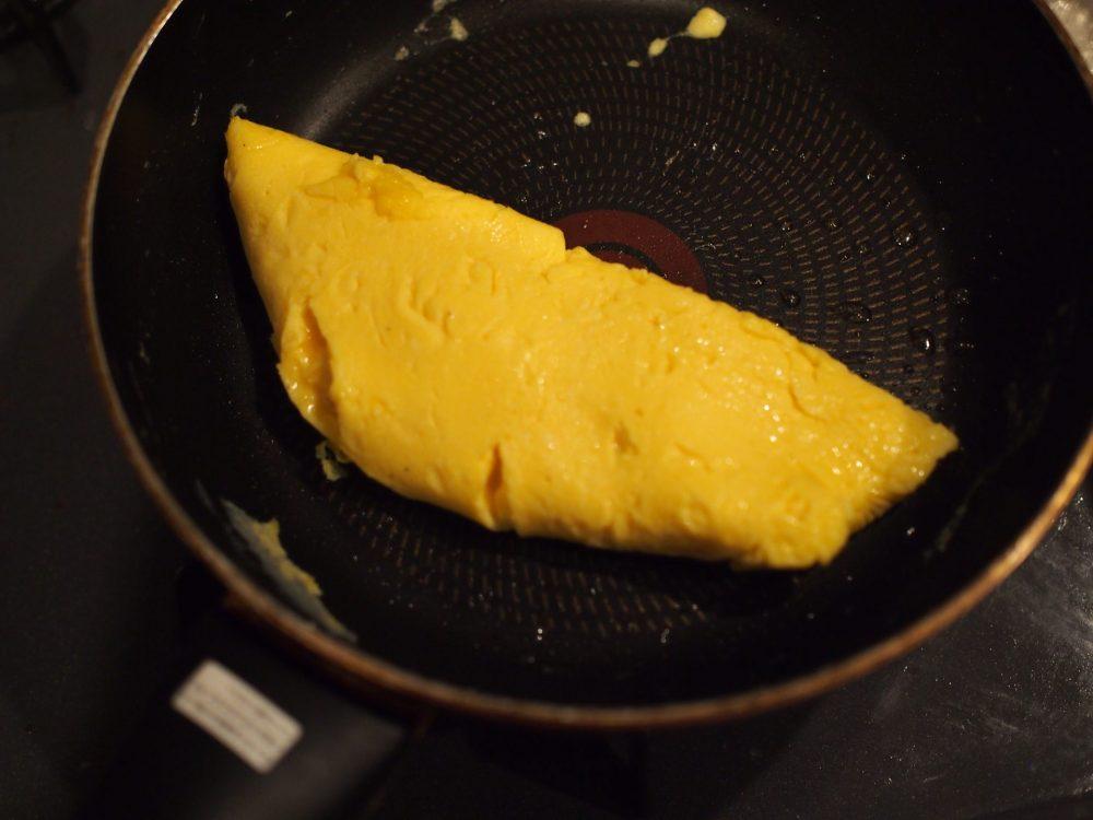 オムレツ 作り方