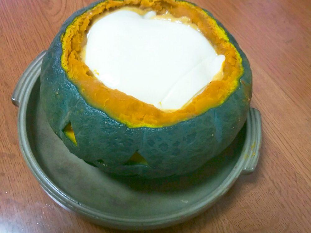 かぼちゃ グラタン 作り方