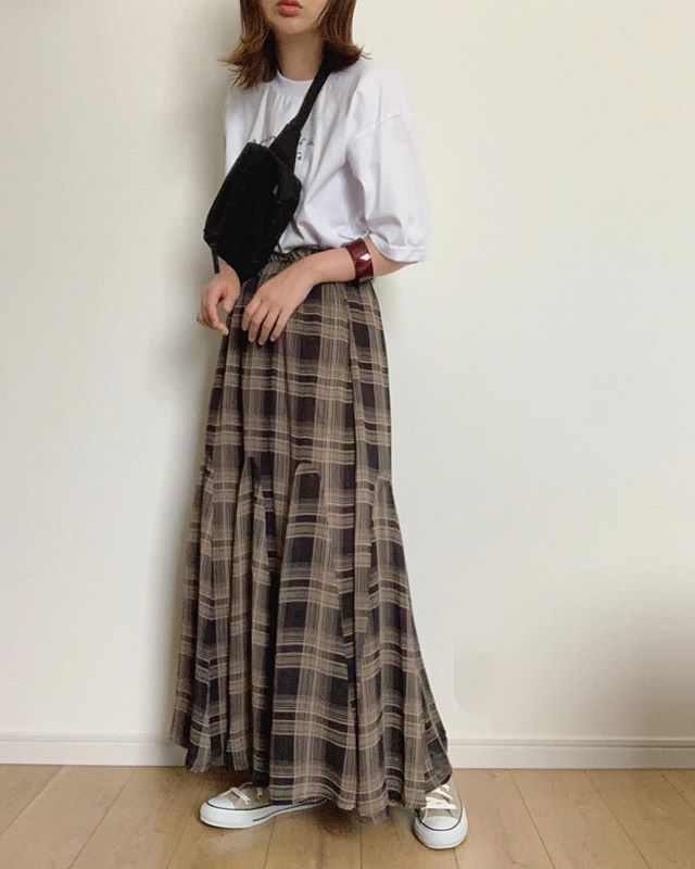 スカート ファッション