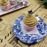 モンブランカップケーキ