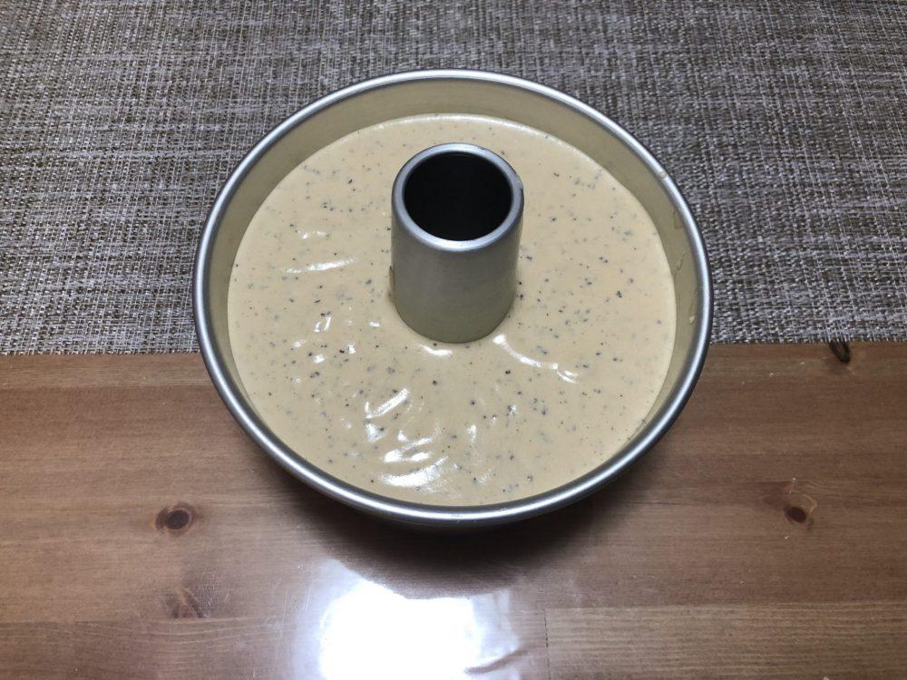 シフォンケーキ 生地