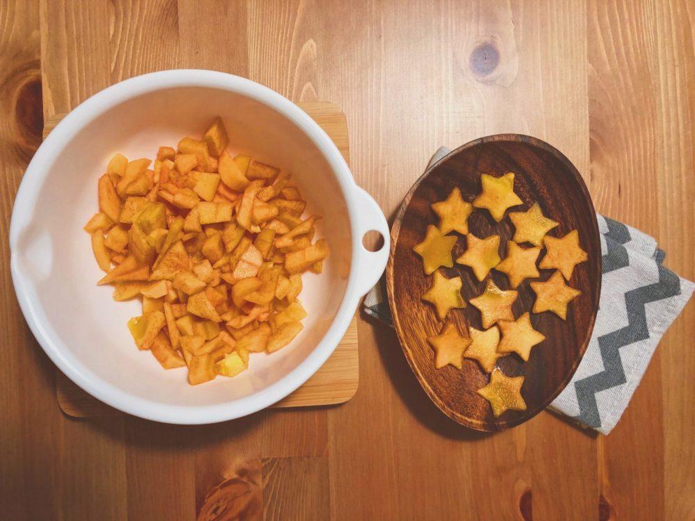柿 チーズパイ レシピ