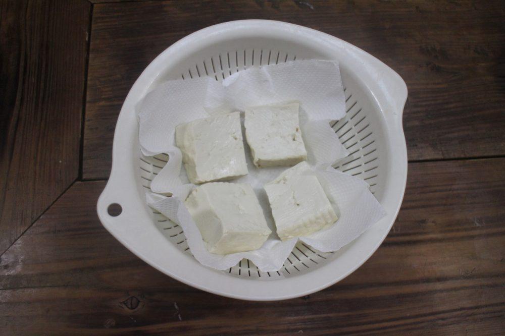 豆腐 水切り