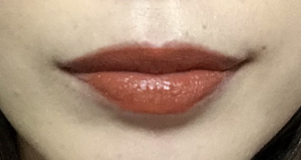 スック 新作リップ 冴褐色 オレンジブラウン