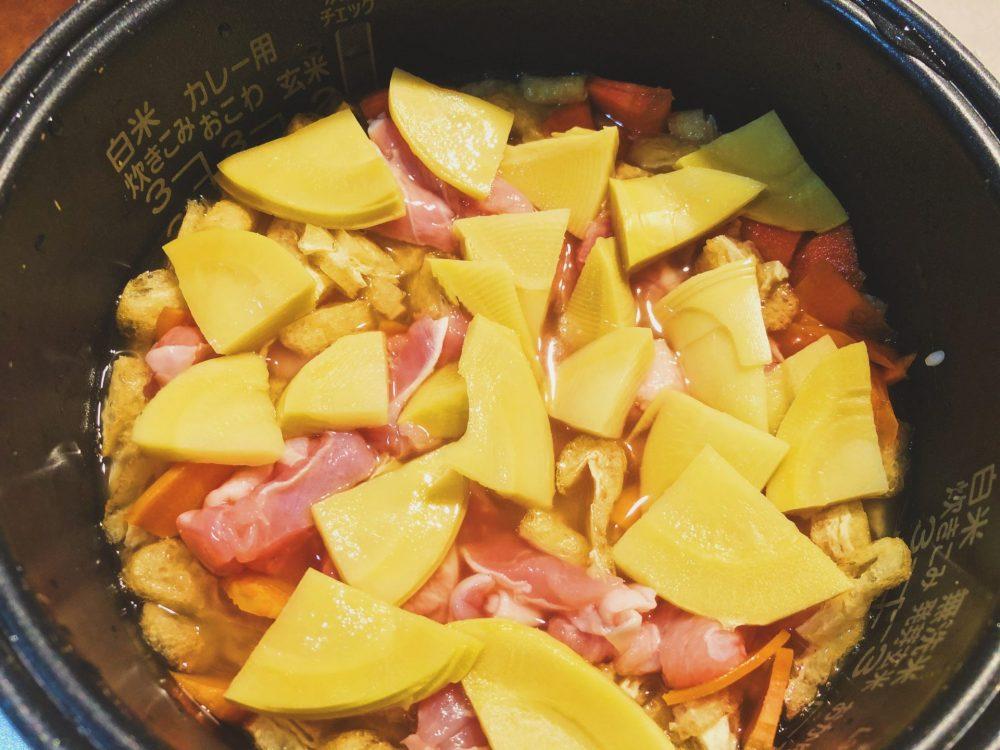 炊き込みご飯 作り方