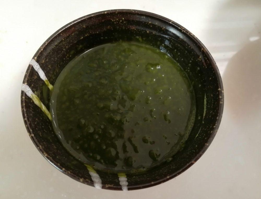 抹茶カステラの作り方