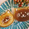セリアのシリコンモールドを使った「ねこ型パンケーキ」の簡単な作り方
