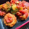 おからパウダーで!簡単ヘルシーなミートボールのトマト煮と野菜たっぷりの副菜